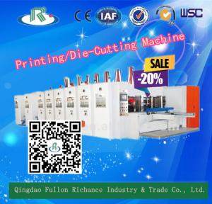China 7 Series High Speed Corrugated Printing Die Cutting Machine (Optional Slotting) on sale