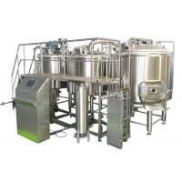 1000L Professional Brewing Equipment 316 Stainless Steel With Three Boiling Kettles