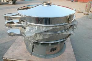 China Circular vibratory screener-1500mm-four deck sifter for fine zinc powder grading on sale