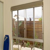 Construction Materials Powder Coated Aluminium Windows Inward / Outward Opening Direction