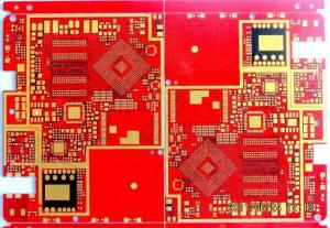 China 8 Layers HDI Third Order Pcb Rapid Prototyping Prototype Half - Hole Metal Edging Gold Finger on sale