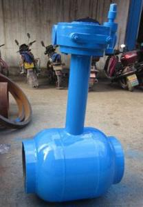 China Underground Water / Oil 1200mm Welding Connect Ball Valve DN15 ~ DN1400 on sale