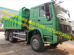 China Sinotruk HOWO 30Ton Load STR Axles Dumper Truck 6X6 For High Mountain For South America Peru Chile on sale