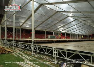 China Heavy Duty Adjustable Steel Truss Decking Floor Tent / Outdoor Event Party Tent on sale