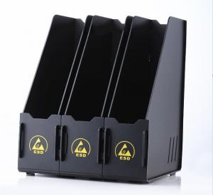 China Permanent ESD Safe Magazine File Holder With 1 / 2 / 3  Compartments on sale