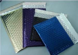 China Tamper Proof Bubble Courier Bags , Aluminum Foil Custom Bubble Envelopes 6X10 #0 on sale