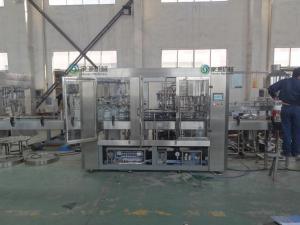 China Línea de relleno de la bebida, 3 en 1 planta de embotellamiento automática del agua 5L on sale
