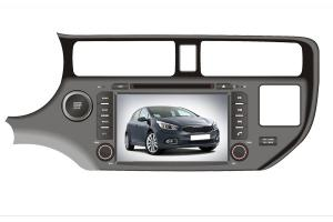 China Car Radio DVD with DVD player for KIA K3  Kia RIO 2012 TOUCH Screen Bluetooth FM on sale