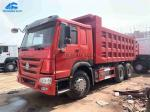 2015 Year 25 Tons Used HOWO Dump Truck With 100% New Cargo Box