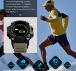 Skmei Health Life Pedometer and Heart Rate Multifunction Bluetooth Smart Creative Fashion Sport Watches 1188