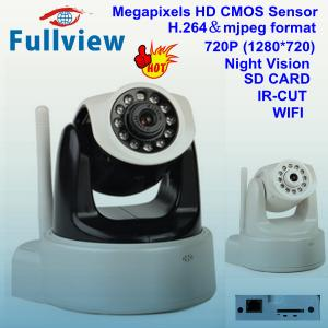 China IP-WF-680----H.264, 720P HD CMOS 1.0MP WIFI indoor Pan Tilt IP camera on sale