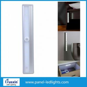 China Night Led Under Cabinet Light For Closet Kitchen , Slim Magnetic Motion Sensor on sale