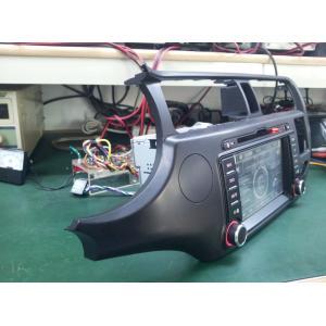 China Voiture numérique d'écran tactile de pouce 800*480 du vacarme 7 d'ISUN 2 GPS stéréo pour KIA RIO 2012-2013 on sale