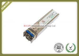 China 1.25Gbps SFP Optical Transceiver Fiber Optic Module With Dual Fiber LC Connector on sale