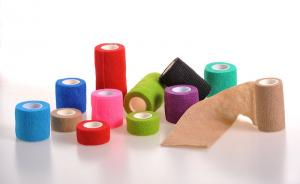 China Colorful Self-Adhesive Elastic Bandage in Different Specification on sale
