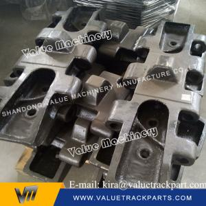 China Supperior Material Black Track Shoe Pad Plate for IHI Crawler Crane on sale