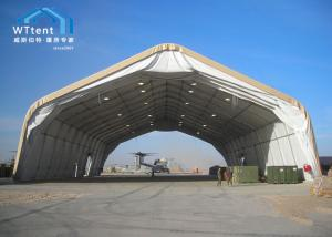 China Aircraft Hangar Curved Tent With Rainproof Cover Size 15x30 on sale