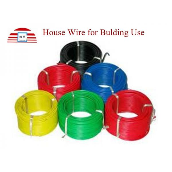 House Wire Low Voltage Power Cable Solid / Stranded Copper ...