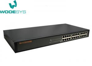 China Rackmount 24 Port Gigabit Network Switch , Gigabit Lan Desktop Network Switch on sale