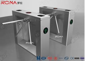 China Crowd Pedestrian Turnstile Gate Rotary Tripod Access System 30 Pearsons / Min on sale