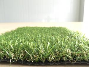 China 12mm 3500Dtex Curled PP Residential Artificial Turf , Artificial Grass For Homes on sale