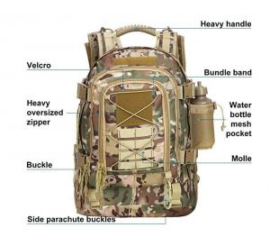 6a117db5a176 ... Quality Military Tactical Assault Backpack 3-Day Expandable Backpack  Extreme Water for sale ...