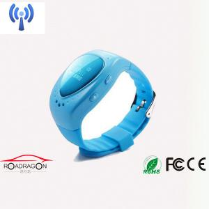 China Mini Wrist Watch GPS Tracker No Battery / Personal watch with gps for kids on sale