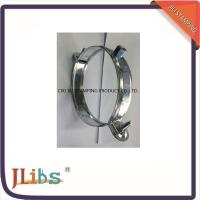 China Custom Standard Galvanised Steel Hanging Pipe Clamps 63mm - 315mm on sale