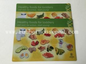 China Eco-friendly Rubber Desk Pad Plastic PVC Placemat With Nontoxic on sale