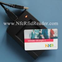 USB Emulation Keyboard HF RFID Reader , CR508 ISO14443A Reader