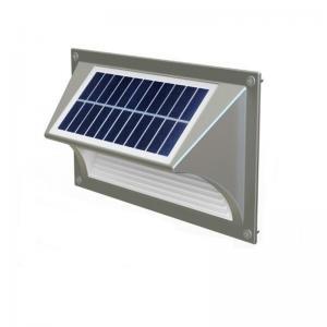 China Decorative modern mini solar led wall light outdoor, Solar Wall Light on sale