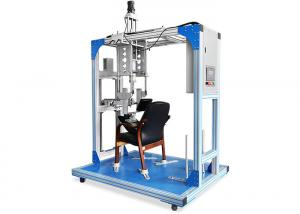 China Programmable Seat Face And Back Testing Equipment Speed Adjustable 0~ 40 /min on sale