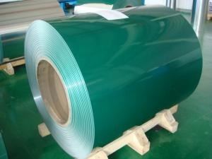 China Gavalnized Colored Prepainted Steel Coil , Hot-dip Al-Zn 0.3-2.0mm on sale