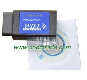 China 2012 ELM327 OBDII WiFi Diagnostic Wireless Scanner Apple IPhone Touch on sale