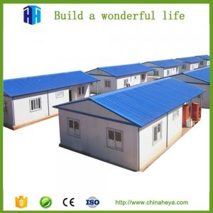 China cheap hurricane proof mediterranean style prefab houses cape town on sale