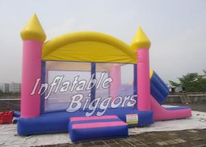 China Inflatable Slide Bouncy House Castle , Commercial Backyard Jumper CE UL on sale
