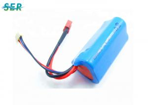 China Remote Control Helicopter Quadcopter Drone Battery?High Current 18650 Li Ion 11.1V 1500mAh on sale