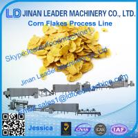 China Corn flakes processing line, hot sale corn flakes breakfast cereal production line on sale