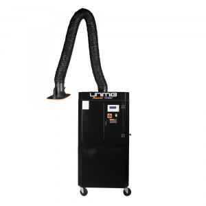 China Single Arm Full Auto Cleaning Mobile Fume Extractor 1.5 KW 700x800x1600mm Size on sale