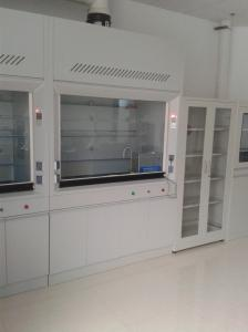 China Standard Design Integrated Type Laboratory Fume Hood 1200/1500/1800*850*2350mm on sale