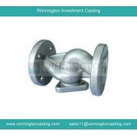 China Valve body precision investment casting CNC machining capacity electro polished finish on sale