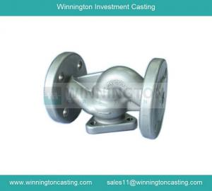 China Valve body precision investment casting CNC machining capacity electro polished finish on sale