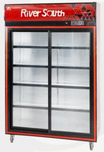 China Glass Fronted Fridge Catering Display Cabinets for Hotel , Restaurant on sale
