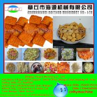 Jinan puffed food production line for snack food machine