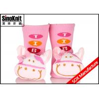China 3D Cute Toys Infant Shoes Newborn Baby Socks Non Slip Winter Warm on sale