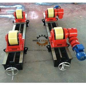 Tornillo de posicionamiento variable del rotor de la soldadura de la velocidad que centra 10 toneladas que conducen la rueda loca