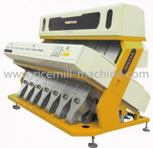 China Intelligent Multifunction Rice CCD Color Sorter Machine Three Stages on sale