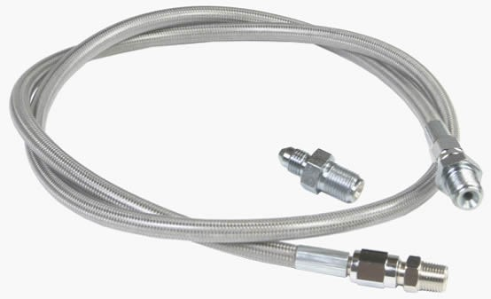 Stainless steel braided brake hose is widely used for any auto, motorcycle, racing cars, beach vehicles, ATV and Scooter