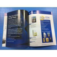 Hardcover Full Color Catalog Printing Offest Brochure Leaflet Die Cut Round Corner