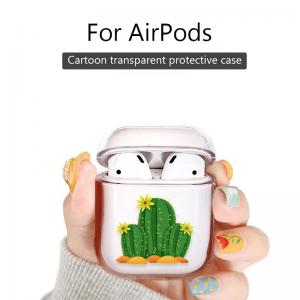 China Music tracker Protective Cartoon Clear PC Cover Chargeable Headphone Case for Apple Airpods 1&2 Charging Case? on sale
